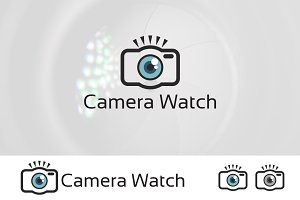 Eye Camera Simple Photography Logo