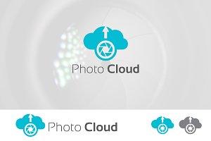 Image Photo Upload Cloud Drive Logo