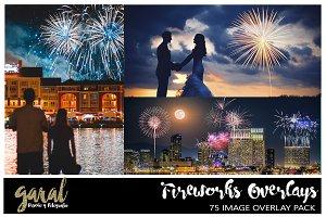 75 Fireworks Overlays