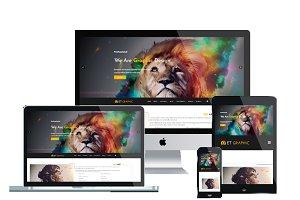 ET Graphic – Graphic WordPress Theme