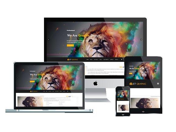 ET Graphic Graphic WordPress Theme