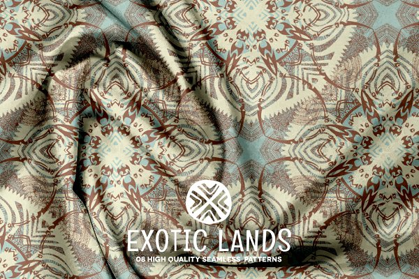 Patterns: Digital Art Creations - Exotic Lands