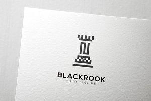 Chess Rook Logo