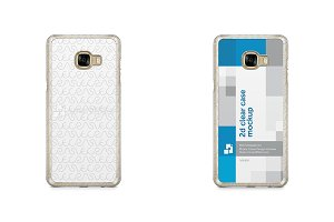 Samsung Galaxy C5 2d Clear Case