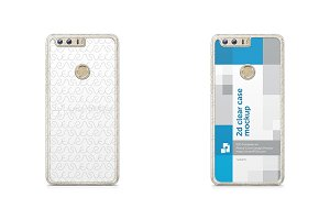 Huawei Honor 8 2d Clear Mobile Case