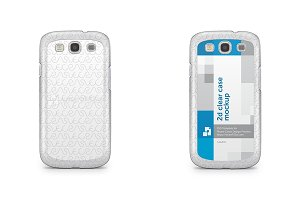 Samsung Galaxy S3 2d Clear Case