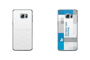 Galaxy S6 Edge Plus 2d Clear Case