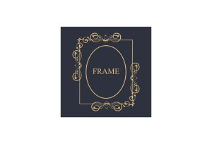Frame - Art Deco