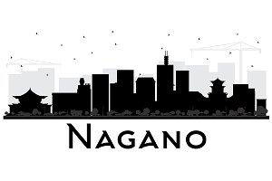 Nagano Japan City Skyline