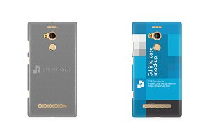 Gionne E8 3d IMD Mobile Case Mockup