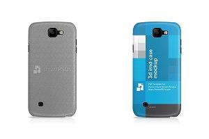 LG K3 3d IMD Mobile Case Mockup