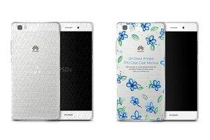 Huawei P8 Lite UV TPU Clear Case