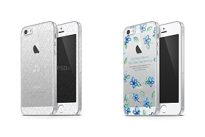 Apple iPhone 5S TPU Clear Mobile Cas