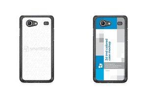 Galaxy S Advance 2d IMD Colored Case