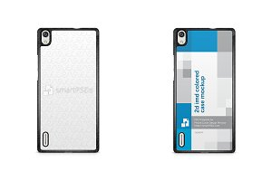 Huawei Ascend P7 2d IMD Colored Case