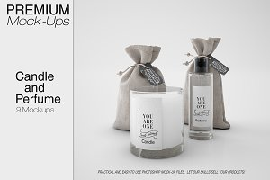 Candle & Perfume Set