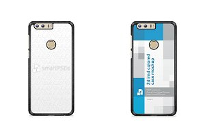Huawei Honor 8 2d IMD Colored Case
