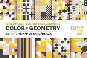 COLOR+GEOMETRY, pattern set 04