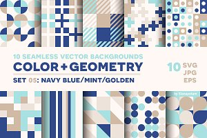 COLOR+GEOMETRY, pattern set 05