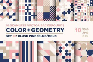 COLOR+GEOMETRY, pattern set 01