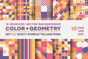 COLOR+GEOMETRY, pattern set 02