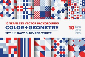 COLOR+GEOMETRY, pattern set 03