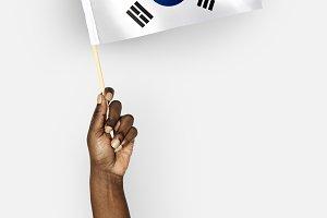 Flag of Korean