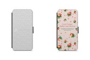 Galaxy A3 2016 2d Wallet Case Mockup
