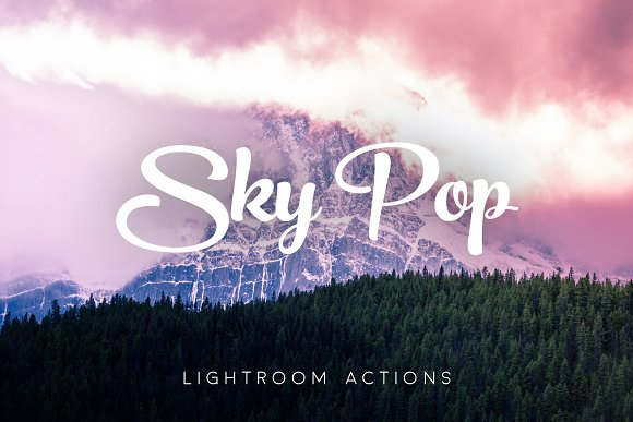 Sky Pop Lightroom Presets