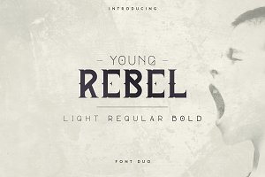Young Rebel Font Duo -50%