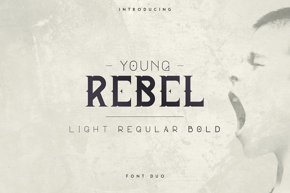 Young Rebel Font Duo 50%