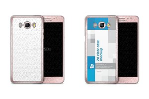 Samsung Galaxy J5 2016 2d Clear Case