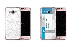 Samsung Galaxy J5 2016 2d Clear Case
