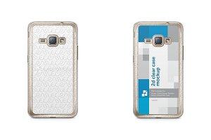 Samsung Galaxy J1 2016 2d Clear Case