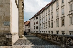 Street in historic centre of Graz