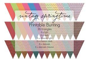 Springtime Vintage - Printables
