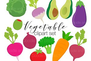 Vegetable Clipart Illustrations