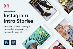 Instagram Intro Stories