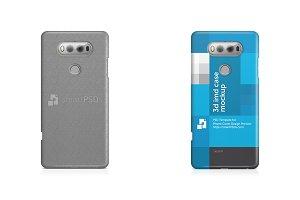 LG V20 3d IMD Mobile Case Mockup
