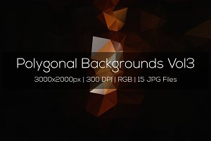 Polygonal Backgrounds Vol3