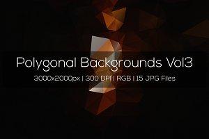 Polygonal Backgrounds Vol3