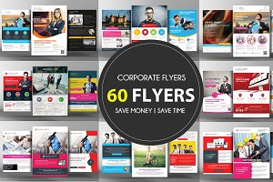 60 Business Flyers Bundle
