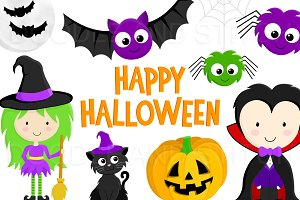 Halloween Clipart Illustrations