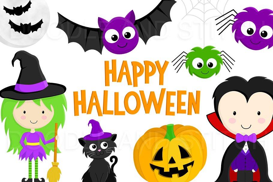 Halloween Clipart Illustrations Illustrations Creative