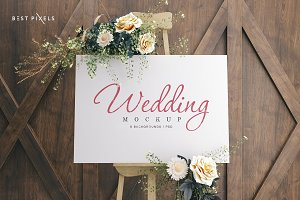 Wedding Board Mockup Bundle
