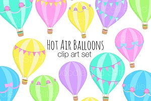 Hot Air Balloon Illustrations