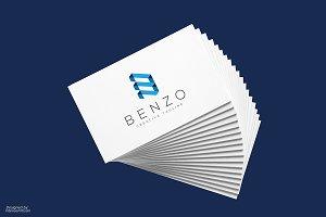 Benzo B Letter Logo