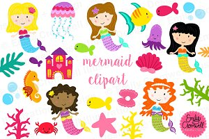 Mermaid Clipart