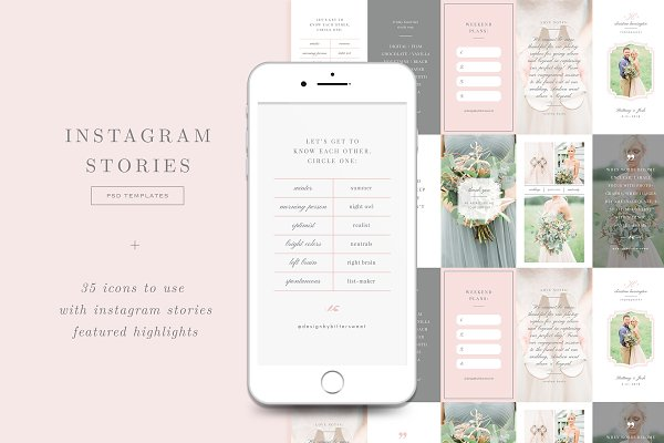 Templates: Design by Bittersweet - Instagram Stories Templates & Icons
