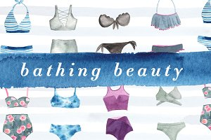 Bathing Beauty Watercolor Kit